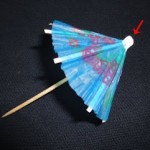 The unsolved mystery of paper cocktail and ice cream parasols
