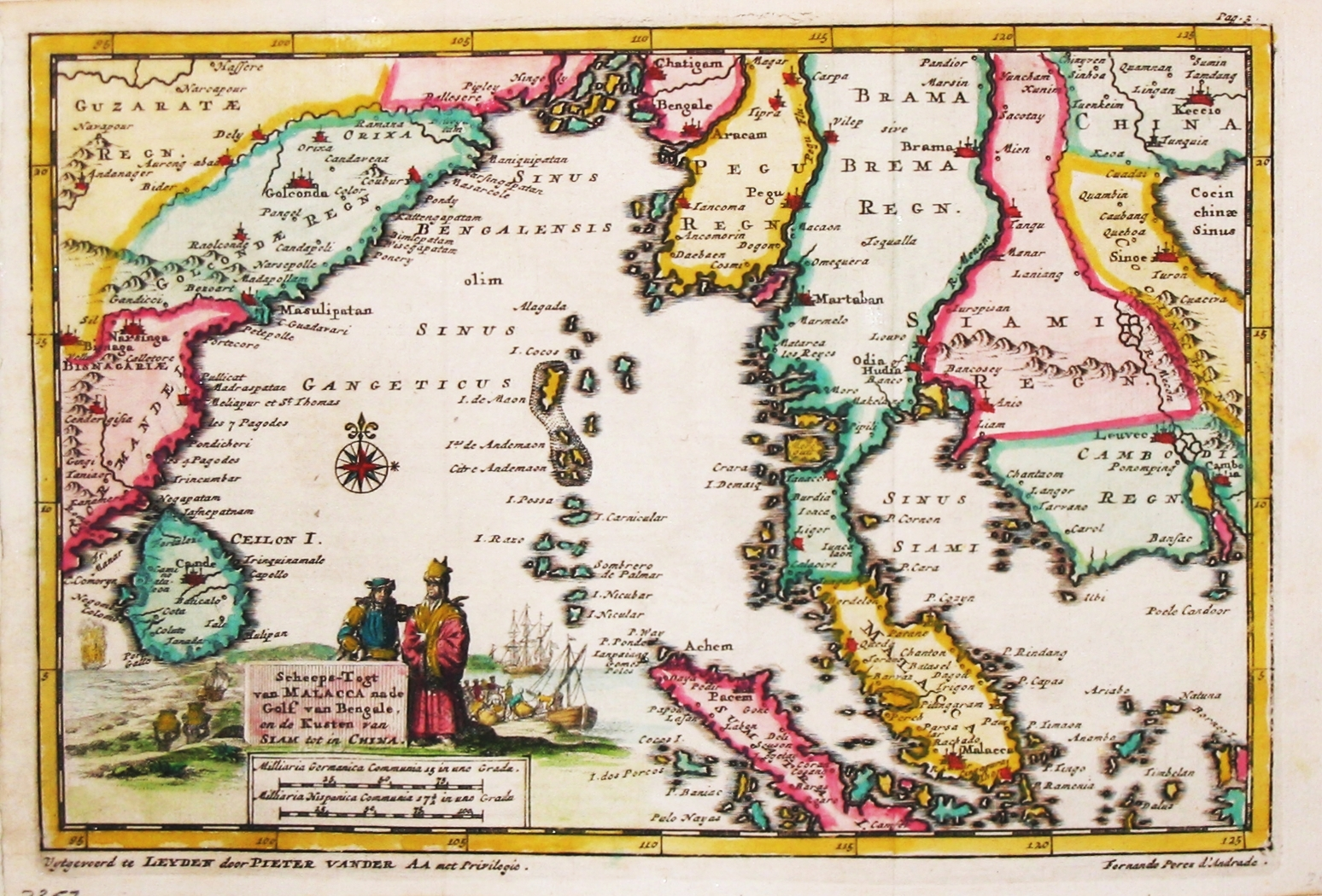 Old maps of Siam and surrounding countries